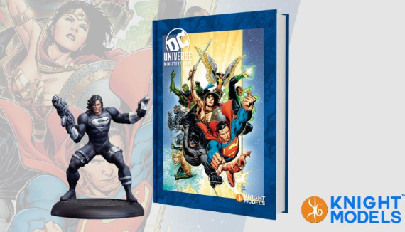 Knight Models DC Universe: DC Universe Rulebook w/ Limited Edition Figure (HC)