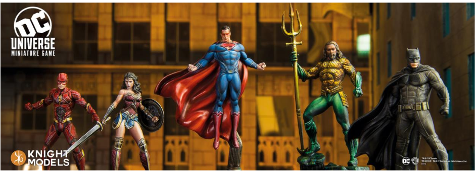 Knight Models DC Universe: Justice League