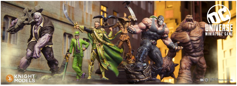 Knight Models DC Universe: Batman's Villains