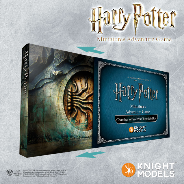 Harry Potter Miniature Game: The Chamber of Secrets Chronicle Box
