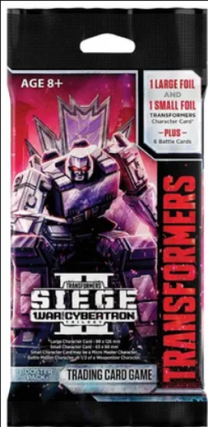 Transformers TCG: War for Cybertron - Siege 2 Booster Pack (1)