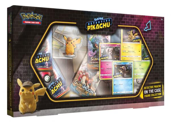 Pokemon CCG: Detective Pikachu On the Case Figure Collection (1)