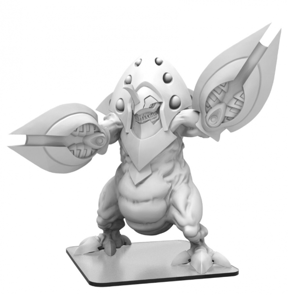 Monsterpocalypse: Xaxor – Planet Eater Monster (metal/resin)