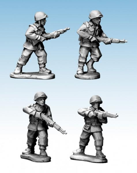 WWII 28mm: (USA) US Infantry Rifles I (Late War)