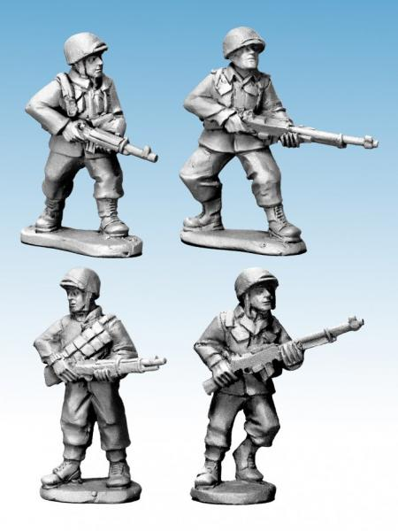 WWII 28mm: (USA) US Infantry BAR Teams (Late War)