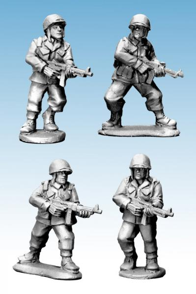 WWII 28mm: (USA) US Infantry SMGs (Late War)