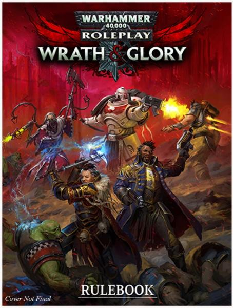 Warhammer 40,000 RPG: Wrath & Glory Rulebook (Revised) (HC)