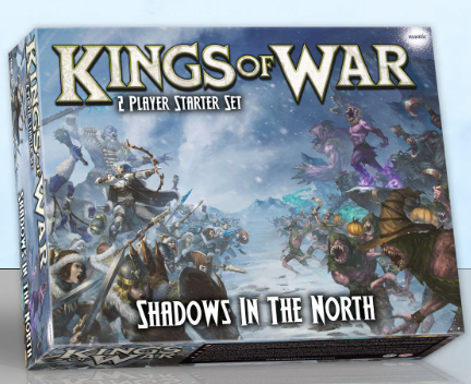 Kings of War: 3rd Edition - Shadows in the North 2-player starter set