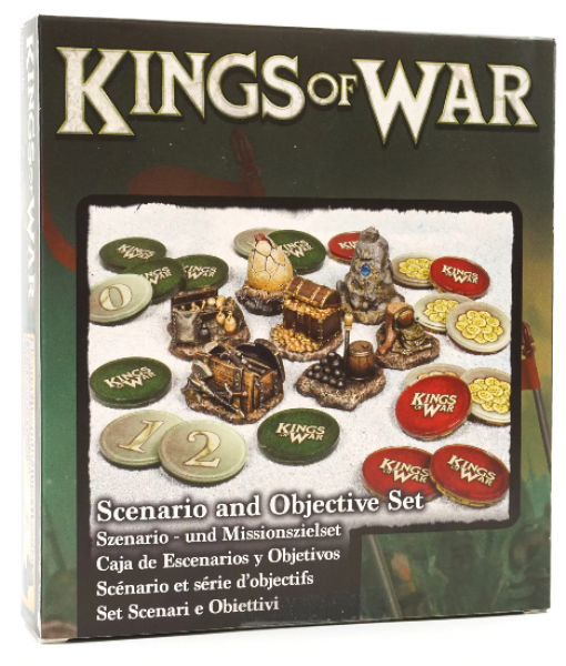 Kings of War: 3rd Edition - Scenario and Objective Set