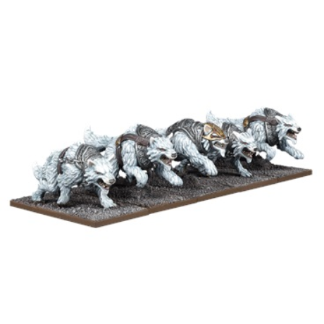 Kings of War: 3rd Edition - Tundra Wolves Troop