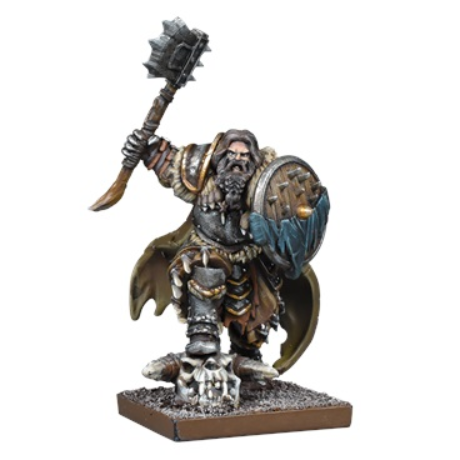 Kings of War: 3rd Edition - Northern Alliance Lord/Skald (1)