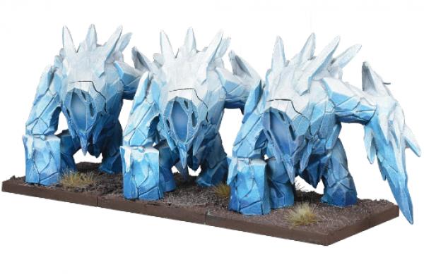 Kings of War: 3rd Edition - Northern Alliance Ice Elemental Regiment