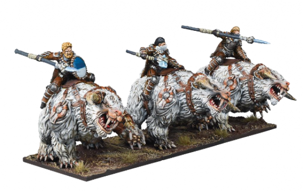 Kings of War: 3rd Edition - Northern Alliance Frost Fang Cavalry Regiment