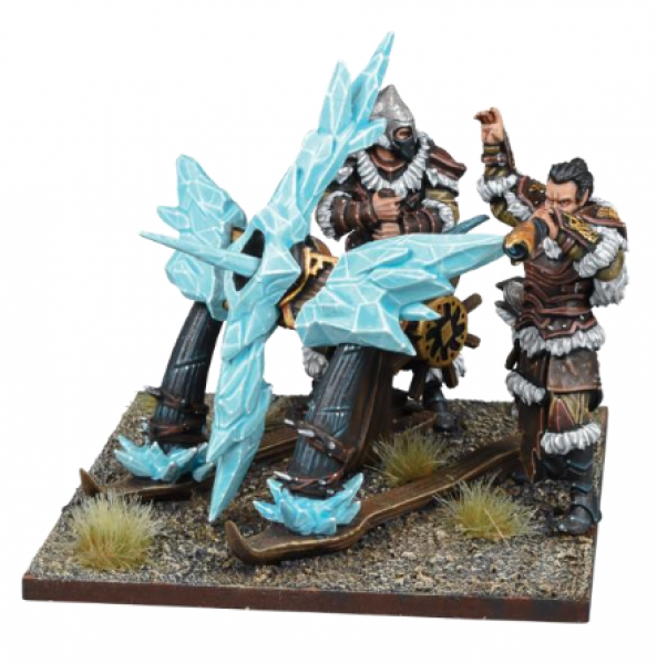 Kings of War: 3rd Edition - Northern Alliance Ice Kin Bolt Thrower