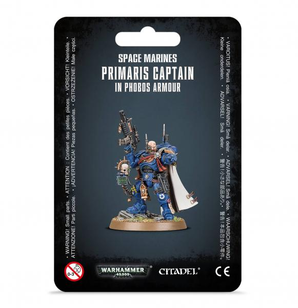WH40K: Space Marines - Primaris Captain in Phobos Armour