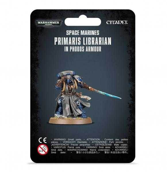 WH40K: Space Marines - Primaris Librarian in Phobos Armour