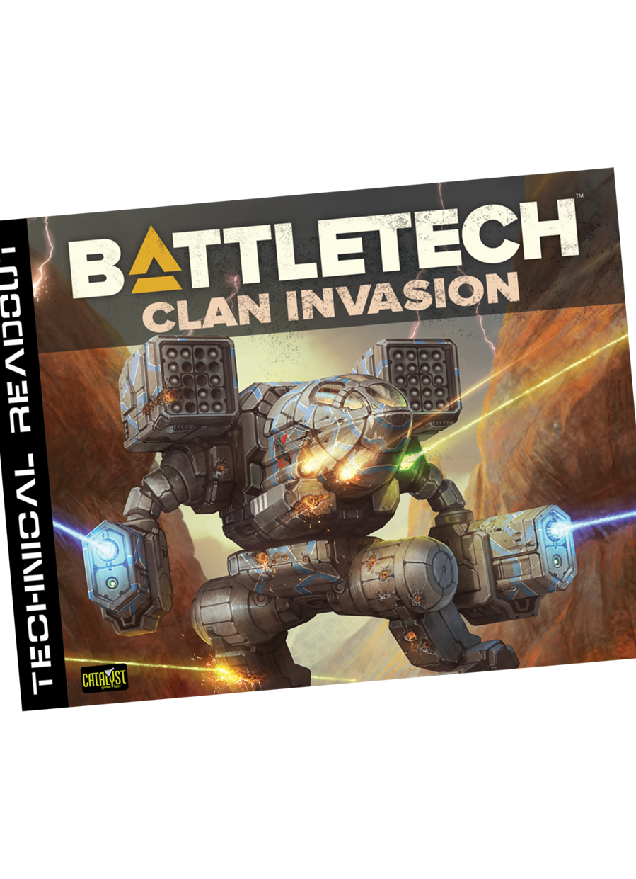 Classic BattleTech: Technical Readout Clan Invasion