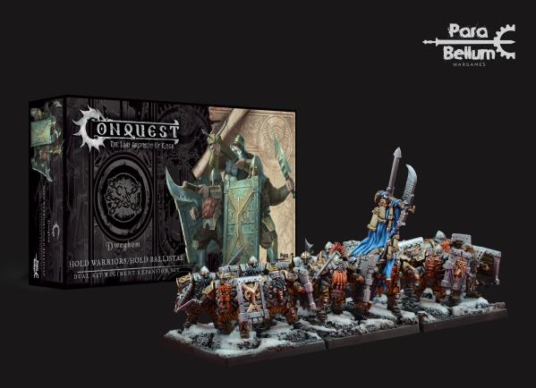 Conquest: Dweghom - Hold Ballistae (Dual Kit with Hold Warriors)