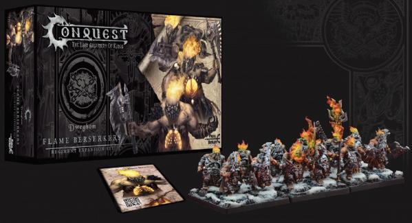 Conquest: Dweghom - Flame Berserkers