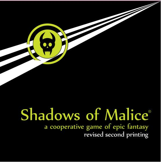 Shadows of Malice (revised 2nd Edition)