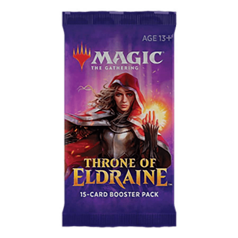 Magic the Gathering: Throne of Eldraine Booster Pack (1 Pack)
