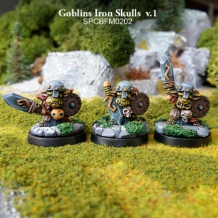 28mm Fantasy: Goblins - Goblins Iron Skulls v.1 (3)