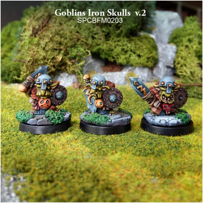 28mm Fantasy: Goblins - Goblins Iron Skulls v.2 (3)