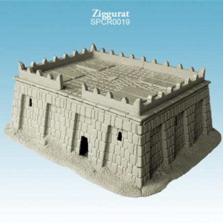 Argatoria 10mm scale - Ziggurat