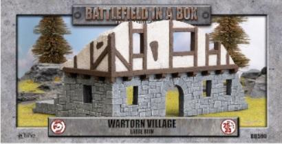 Battlefield in a Box: Wartorn Village Large Ruin