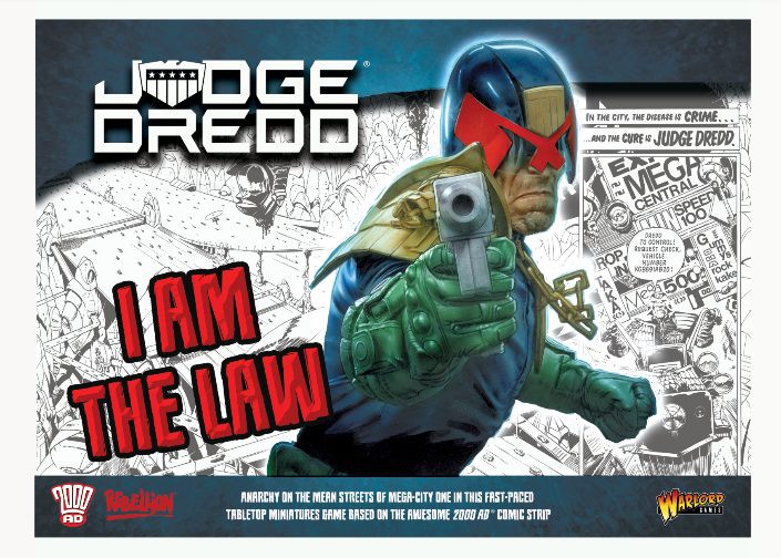 Judge Dredd: 'I Am The Law' Starter Game