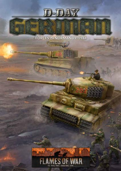 Flames Of War: D-Day - Germans (HC)