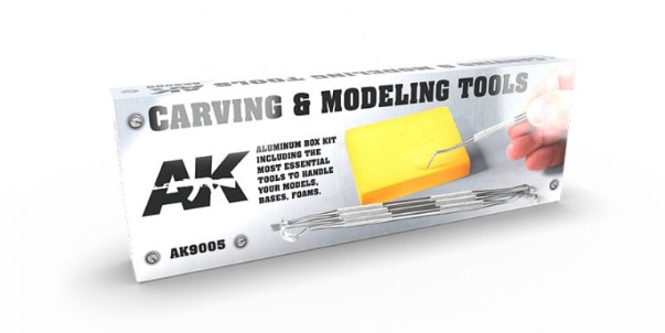 AK-Interactive: Carving Tools Deluxe Box