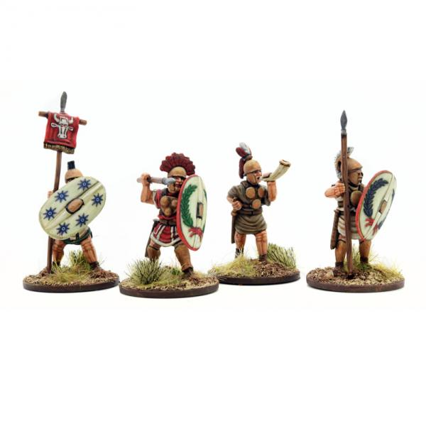 28mm Historical: Italian Allies Command (4)