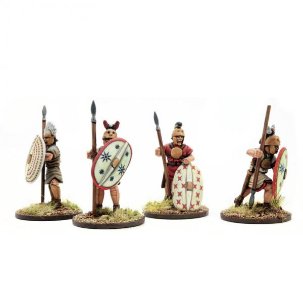 28mm Historical: Italian Allies Standing (4)