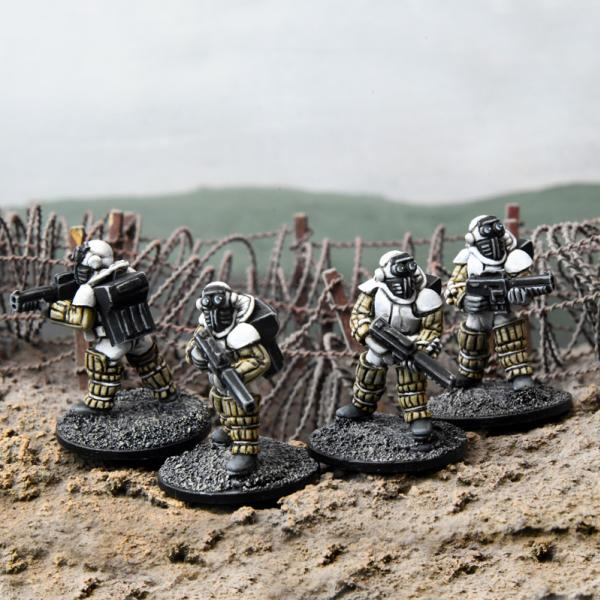 28mm Sci Fi: Corporation Commando (4)