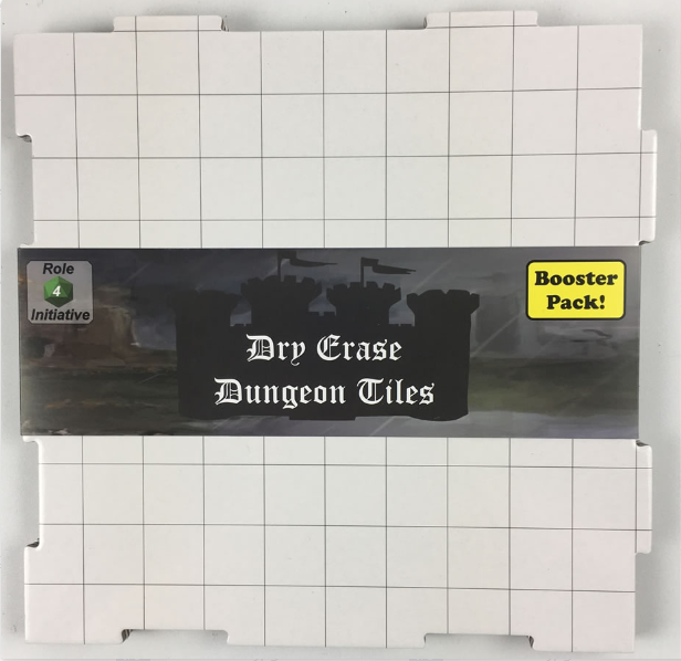 Dry Erase Dungeon Tiles: Booster Pack - White