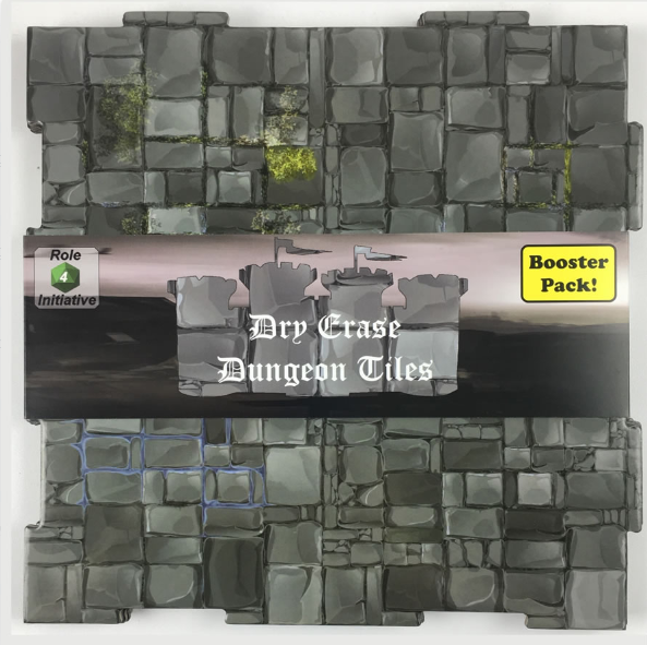 Dry Erase Dungeon Tiles: Booster Pack - Graystone