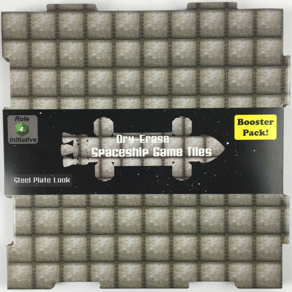 Dry Erase Dungeon Tiles: Booster Pack - Steel Plate