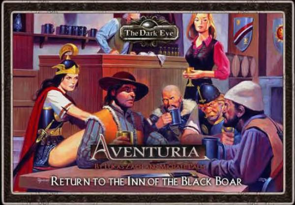 Aventuria Adventure Card Game: Return to the Inn of the Black Boar Expansion