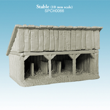 10mm Miniature Terrain: Stable