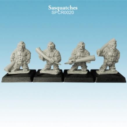 Argatoria 10mm scale - Sasquatches (4)