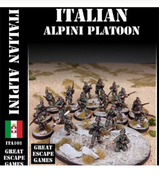 WWII: Italian Alpini Platoon – Summer Uniform