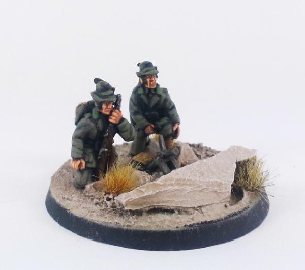 WWII: Italian Alpini Brexia 45mm Mortar – Summer Uniform