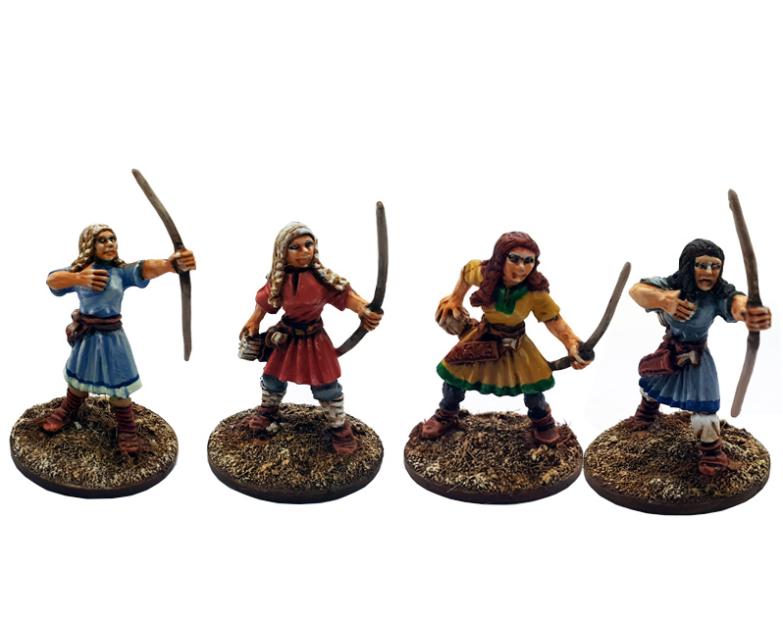 SAGA: (Age of Vikings) Shieldmaiden Archers (Levy) (12)