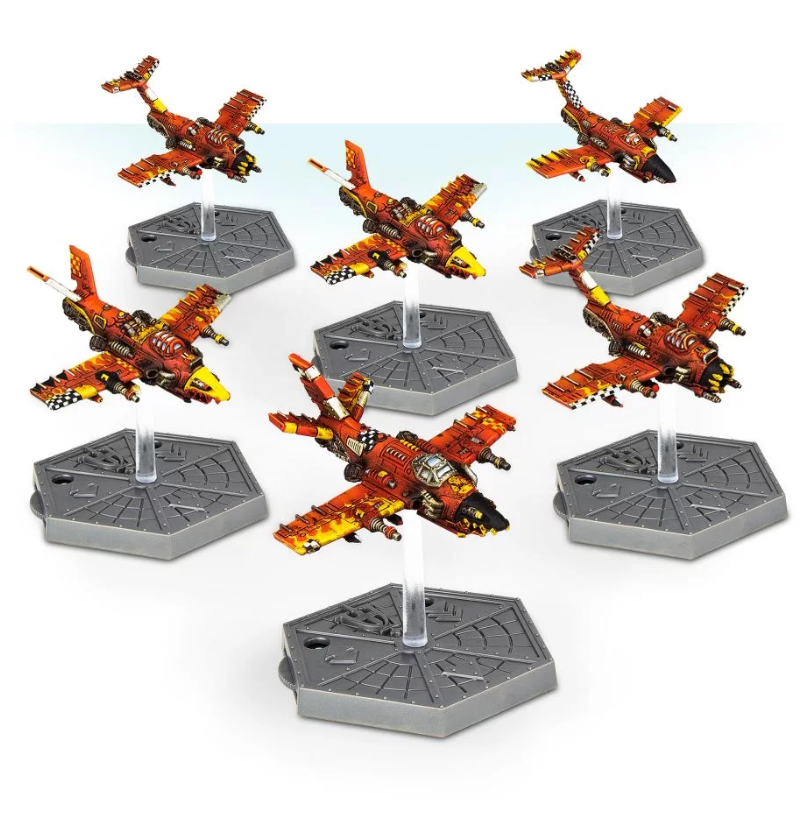 Aeronautica Imperialis: Ork Air Waaagh! Dakkajets