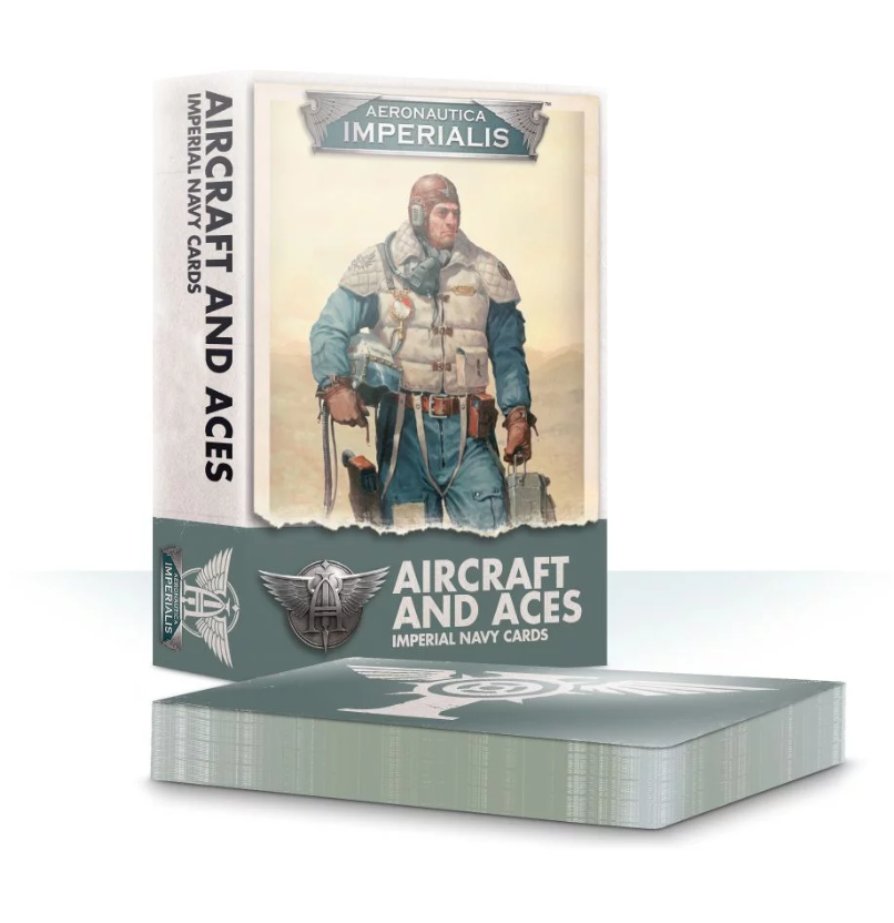 Aeronautica Imperialis: Aircraft and Aces Imperial Navy Cards
