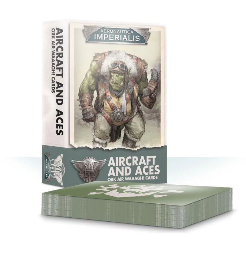 Aeronautica Imperialis: Aircraft and Aces Ork Air Waaagh! Cards
