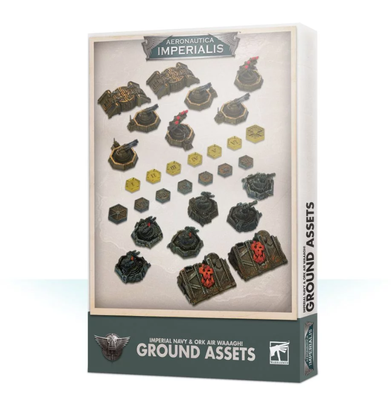 Aeronautica Imperialis: Ground Assets and Objectives
