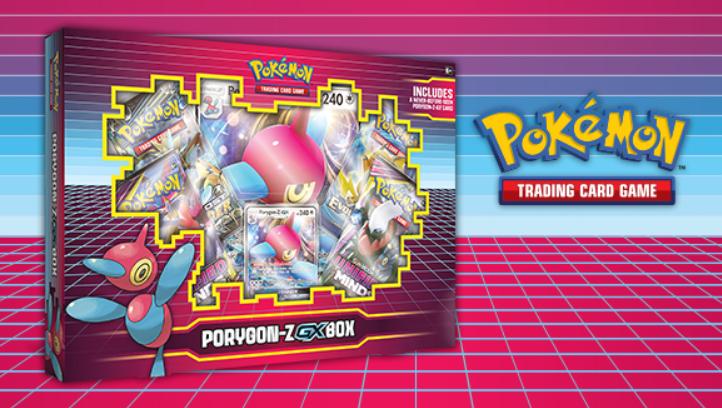 Pokemon CCG: Porygon-Z-GX Box