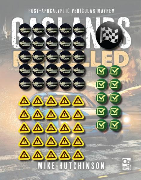 Gaslands: Tokens for Gaslands Refuelled (61pcs)